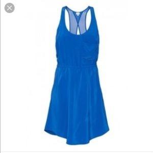 Wilfred Aritzia Open Back 100% Silk Dress- Size XS